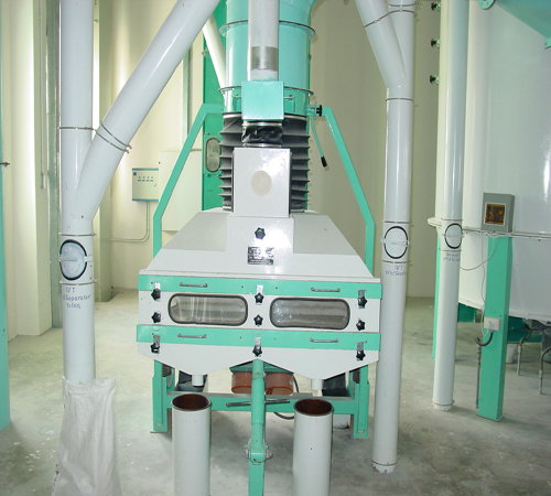 500t wheat flour mill project