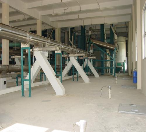 500t complete wheat flour plant