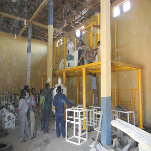 flour mill installation