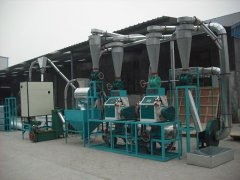 Bengal 10t Complete Sets of Wheat Flour Equipment
