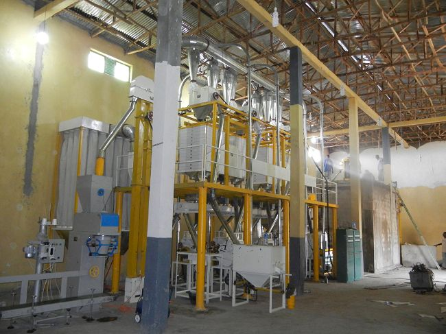 40t wheat mill plant