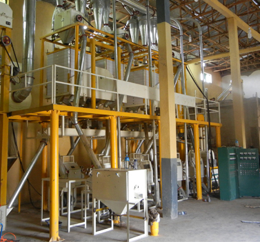 40T wheat flour plant