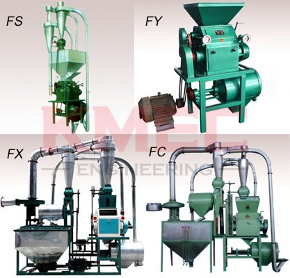 small scale flour milling machines